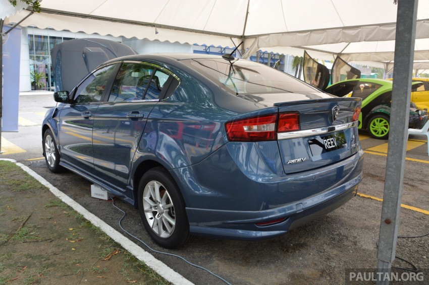 Proton Preve REEV electric car prototype previewed Image #275791