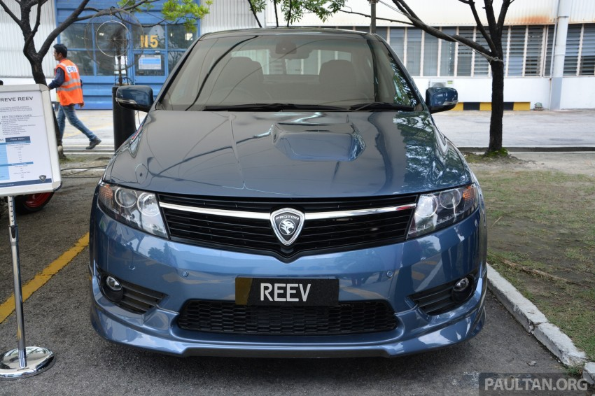 Proton Preve REEV electric car prototype previewed Image #275786