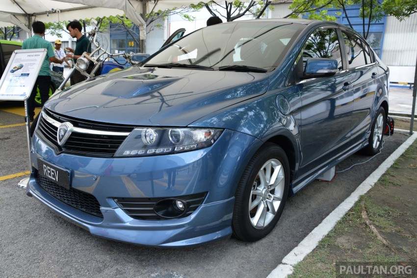 Proton Preve REEV electric car prototype previewed Image #275785