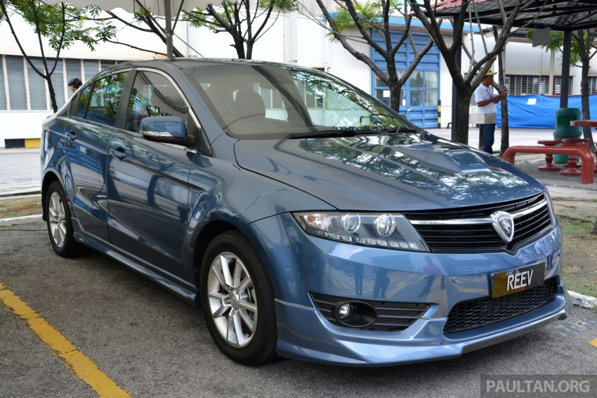 Proton Preve REEV electric car prototype previewed Image #275784
