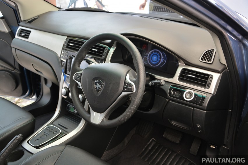 Proton Preve REEV electric car prototype previewed Image #275770