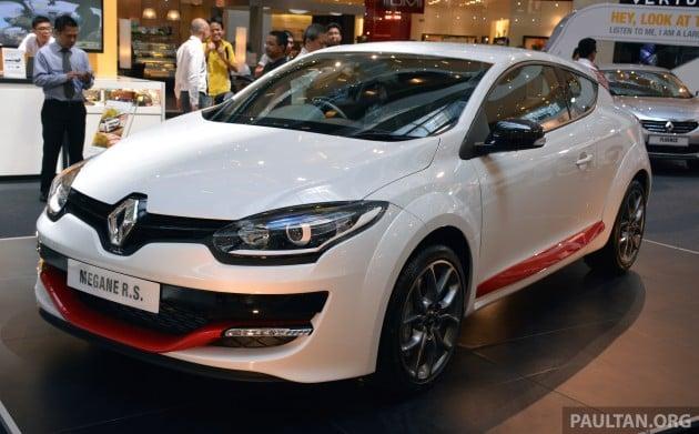 Renault Megane RS265 FL 1