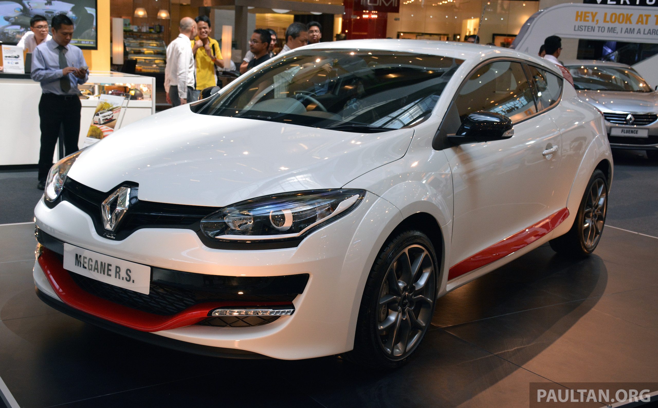 renault megane rs 265 sport facelift debuts rm200k paul tan image 273069. Black Bedroom Furniture Sets. Home Design Ideas