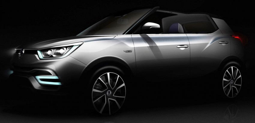 SsangYong XIV-Air, XIV-Adventure concepts teased Image #271112