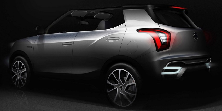 SsangYong XIV-Air, XIV-Adventure concepts teased Image #271113