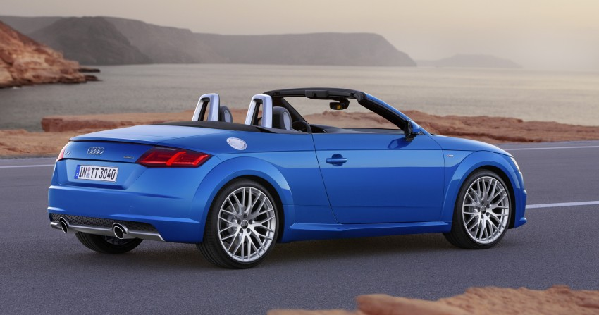 Audi TT Roadster – first official details and photos Image #274876