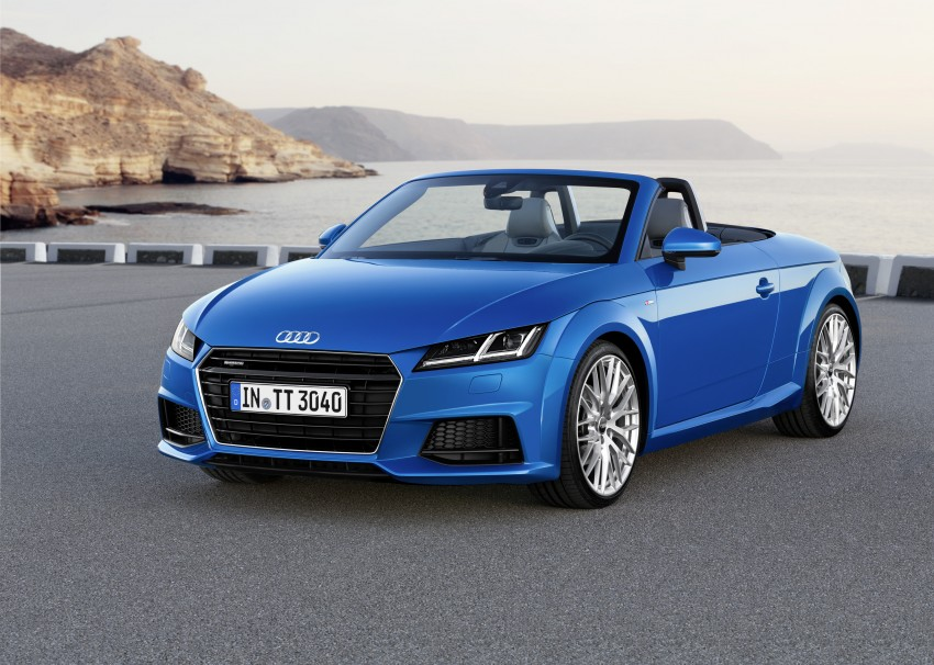 Audi TT Roadster – first official details and photos Image #274879