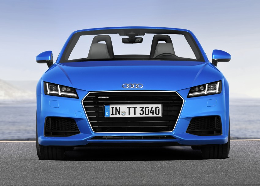 Audi TT Roadster – first official details and photos Image #274871