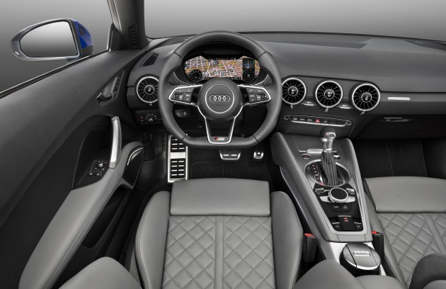 Audi introduces entry-level TT 1.8 TFSI with 180 hp