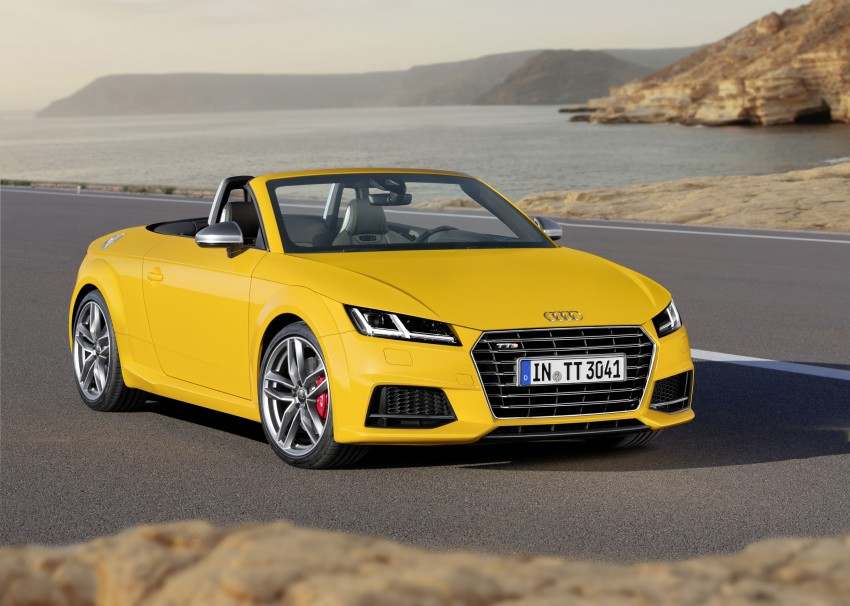 Audi TT Roadster – first official details and photos Image #274870