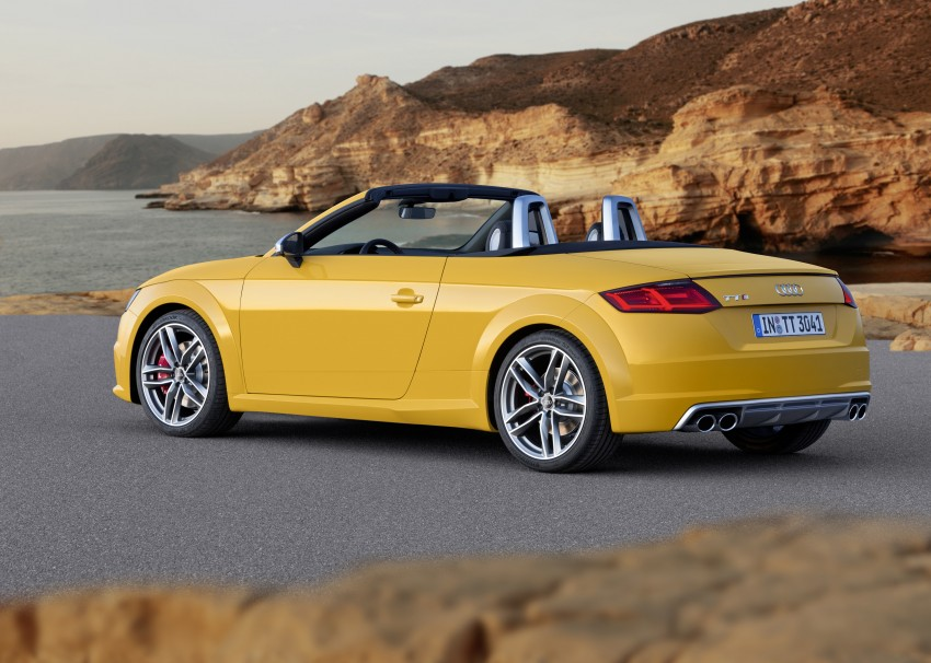Audi TT Roadster – first official details and photos Image #274874