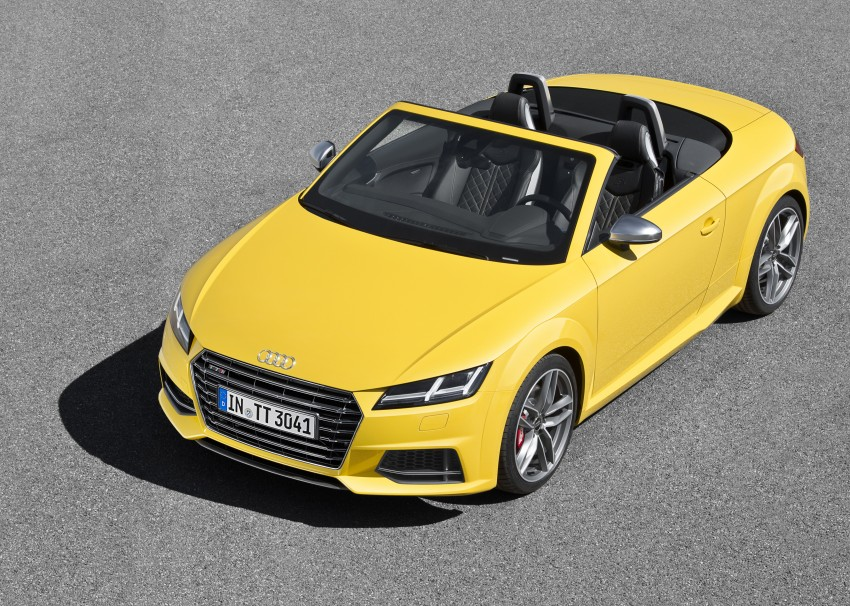 Audi TT Roadster – first official details and photos Image #274869