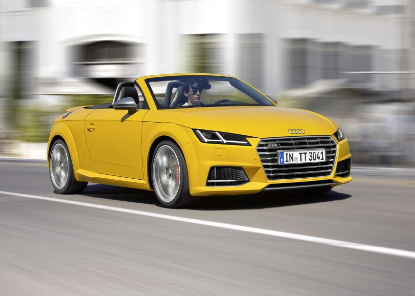 Audi TT Roadster – first official details and photos Image #274881