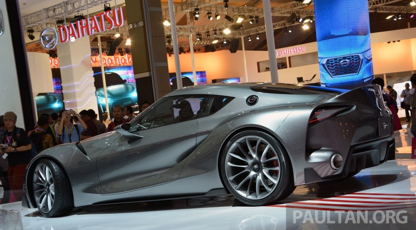IIMS 2014: Toyota FT-1 Concept is one curvy stunner Image #274331