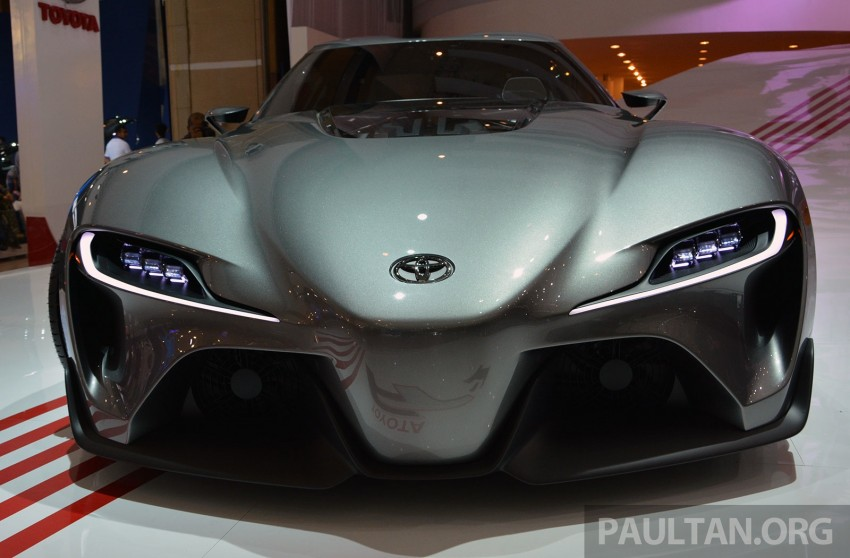 IIMS 2014: Toyota FT-1 Concept is one curvy stunner Image #274341