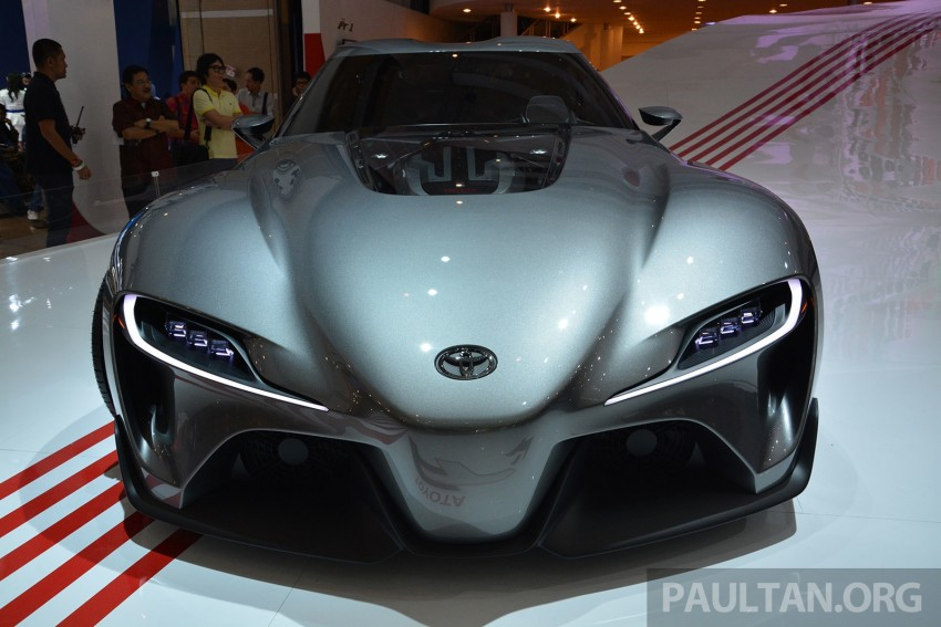 IIMS 2014: Toyota FT-1 Concept is one curvy stunner Image #274342