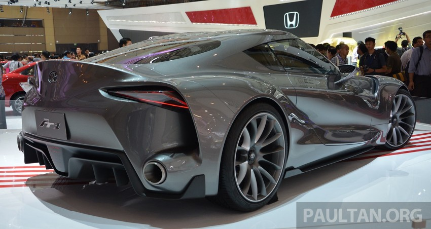 IIMS 2014: Toyota FT-1 Concept is one curvy stunner Image #274344