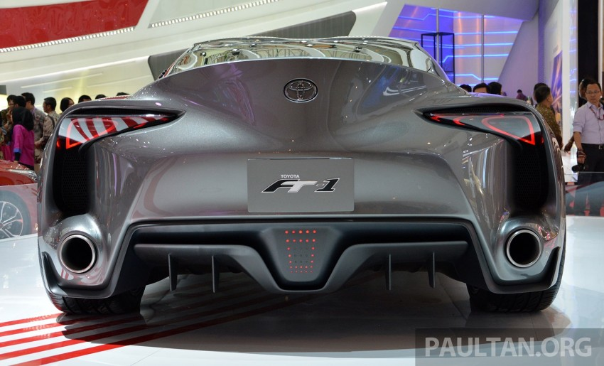 IIMS 2014: Toyota FT-1 Concept is one curvy stunner Image #274346