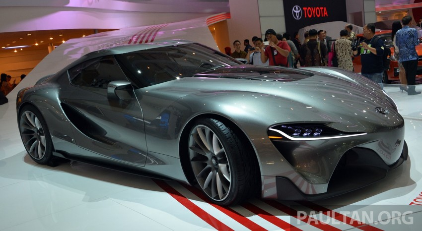 IIMS 2014: Toyota FT-1 Concept is one curvy stunner Image #274348