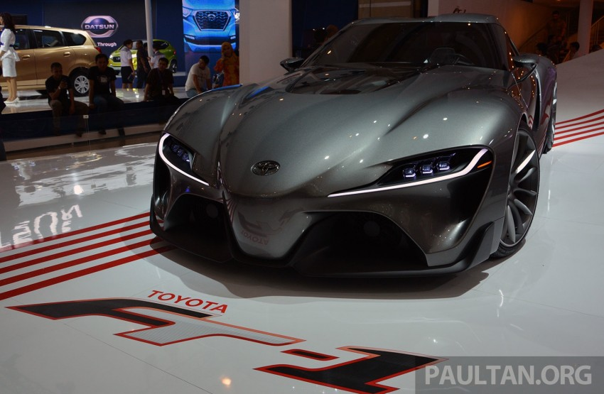 IIMS 2014: Toyota FT-1 Concept is one curvy stunner Image #274332