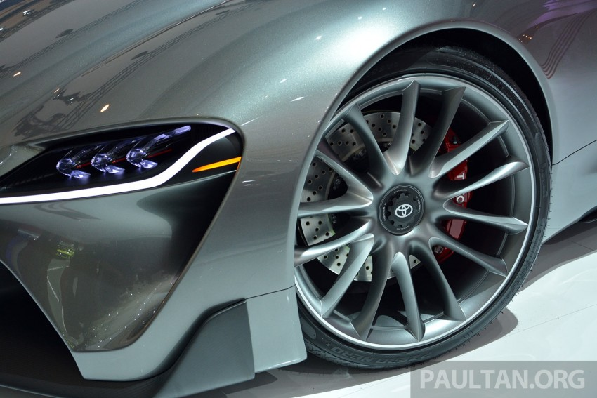 IIMS 2014: Toyota FT-1 Concept is one curvy stunner Image #274335