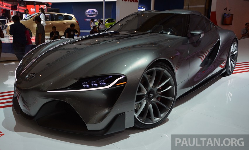 IIMS 2014: Toyota FT-1 Concept is one curvy stunner Image #274336