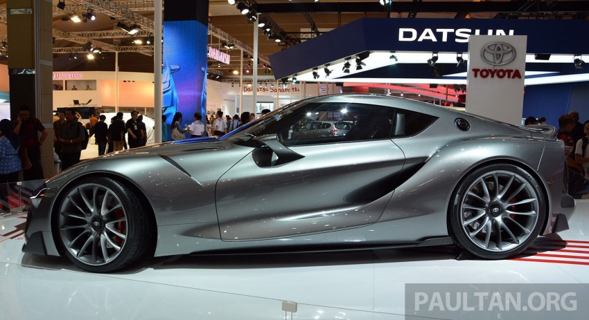 IIMS 2014: Toyota FT-1 Concept is one curvy stunner Image #274339