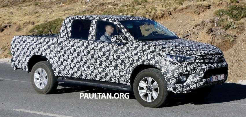 2015 Toyota Hilux spotted in Europe – clearer shots! Image #274218