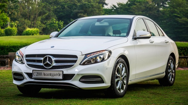 w205 mercedes benz c class launched from rm286k. Black Bedroom Furniture Sets. Home Design Ideas