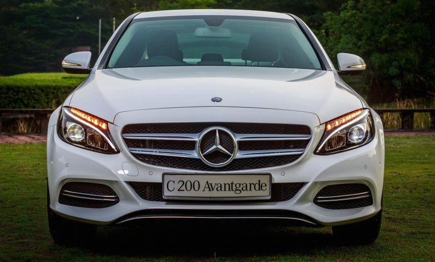 W205 Mercedes-Benz C-Class launched, from RM286k Image #272337