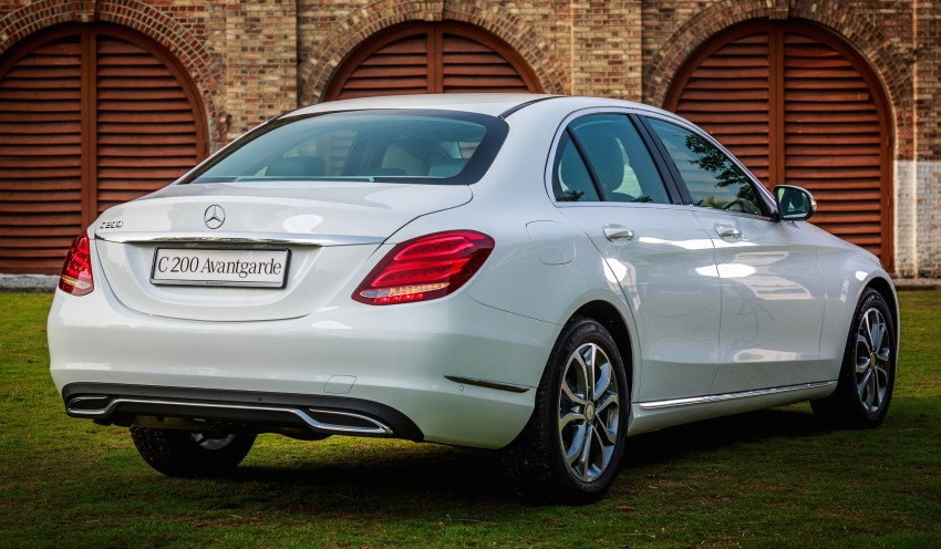 W205 Mercedes-Benz C-Class launched, from RM286k Image #272348