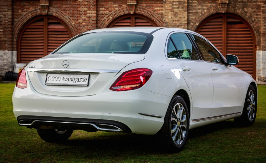W205 Mercedes-Benz C-Class launched, from RM286k Image #272366
