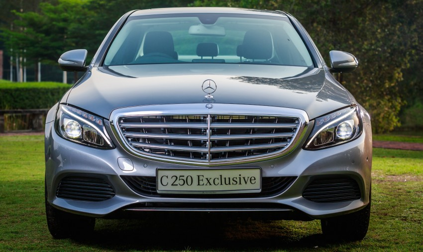 W205 Mercedes-Benz C-Class launched, from RM286k Image #272384