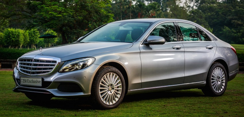 W205 Mercedes-Benz C-Class launched, from RM286k Image #272395