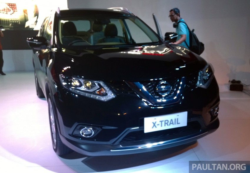 IIMS 2014: New Nissan X-Trail launched in Indonesia Image #274182