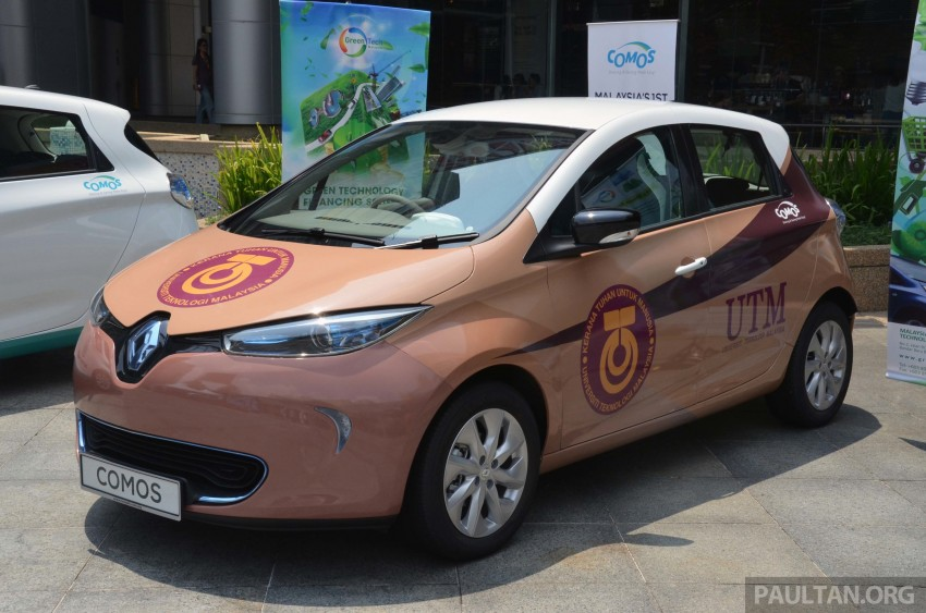 COMOS introduces EV car-sharing programme to the public, official launch to take place next month Image #274274