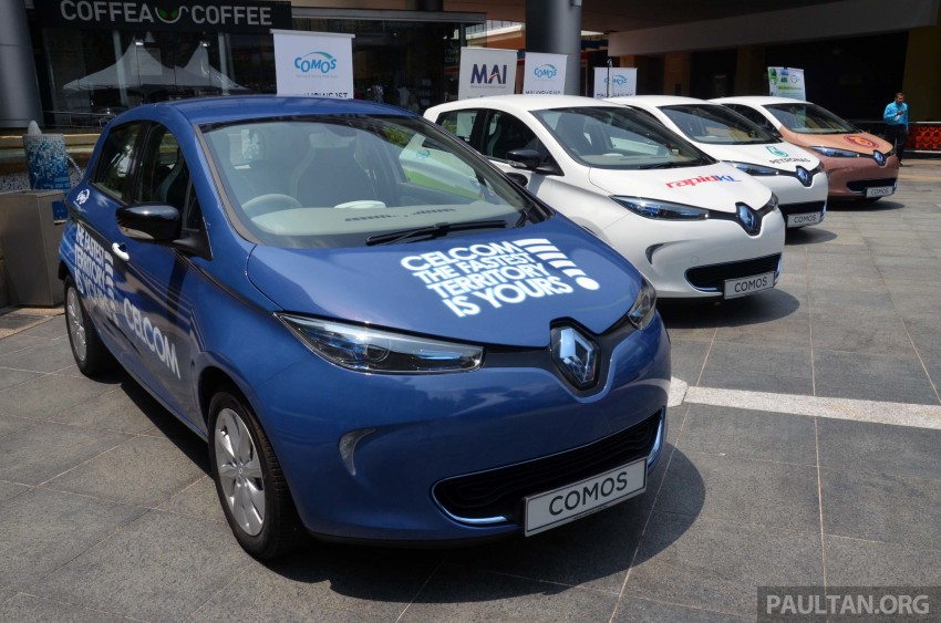 COMOS introduces EV car-sharing programme to the public, official launch to take place next month Image #274276
