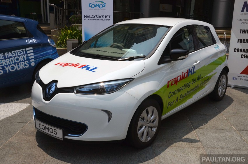 COMOS introduces EV car-sharing programme to the public, official launch to take place next month Image #274277