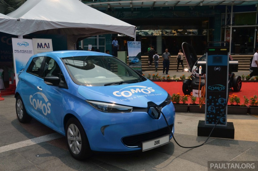 COMOS introduces EV car-sharing programme to the public, official launch to take place next month Image #274281