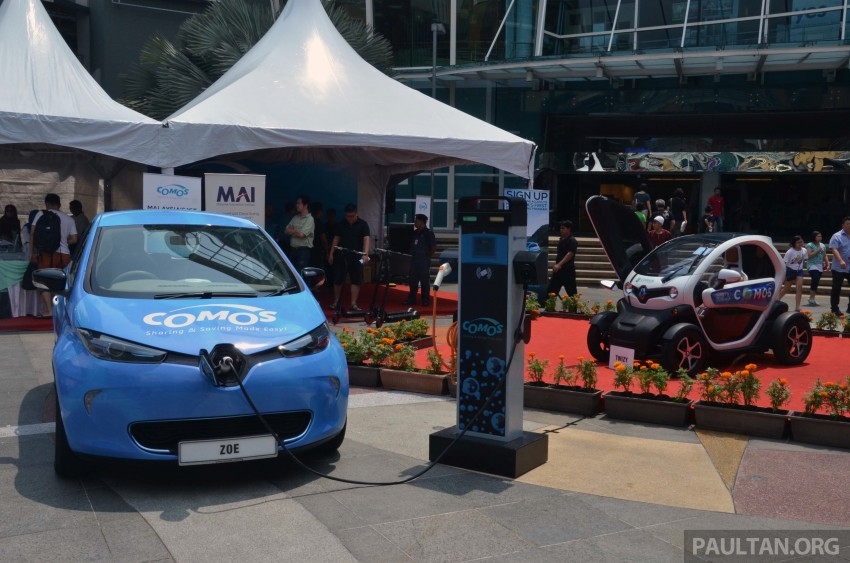 COMOS introduces EV car-sharing programme to the public, official launch to take place next month Image #274290