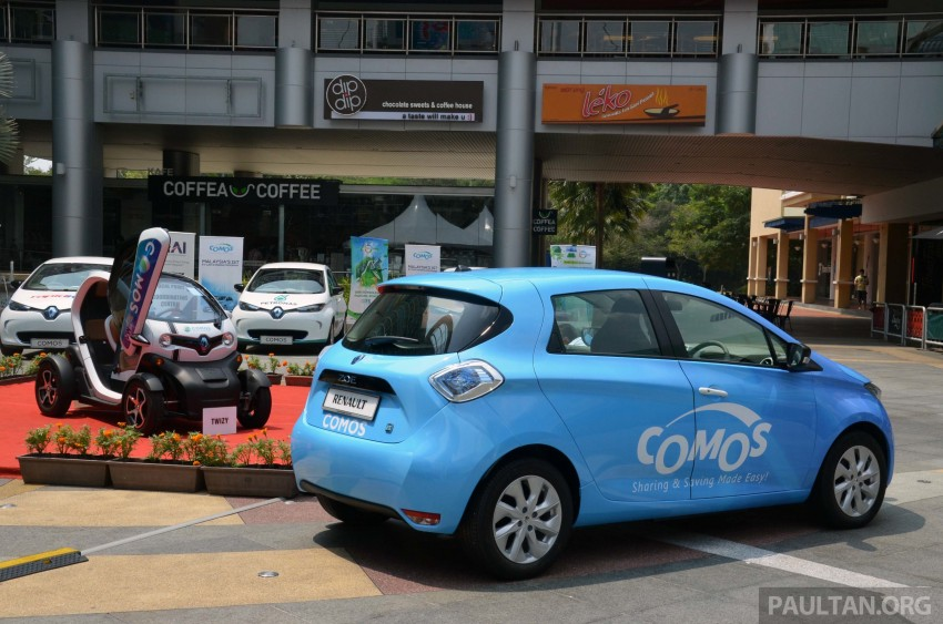COMOS introduces EV car-sharing programme to the public, official launch to take place next month Image #274291