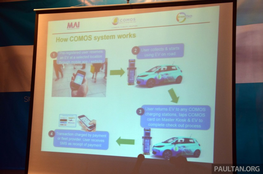 COMOS introduces EV car-sharing programme to the public, official launch to take place next month Image #274296