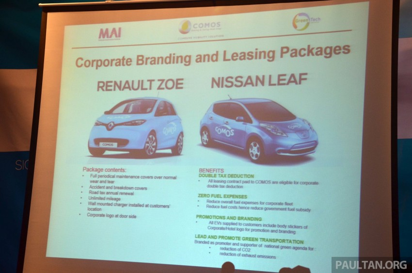 COMOS introduces EV car-sharing programme to the public, official launch to take place next month Image #274309