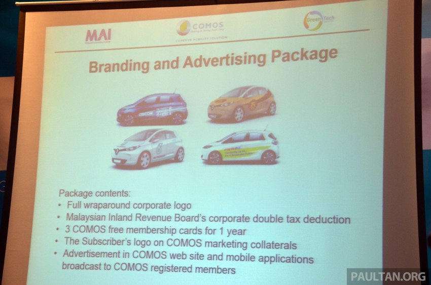 COMOS introduces EV car-sharing programme to the public, official launch to take place next month Image #274311