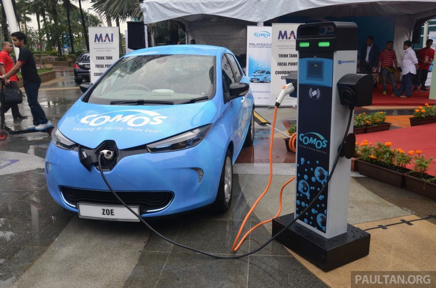 COMOS introduces EV car-sharing programme to the public, official launch to take place next month Image #274316
