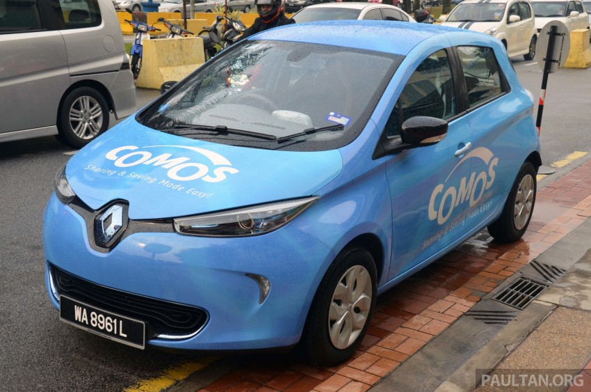 COMOS introduces EV car-sharing programme to the public, official launch to take place next month Image #274319