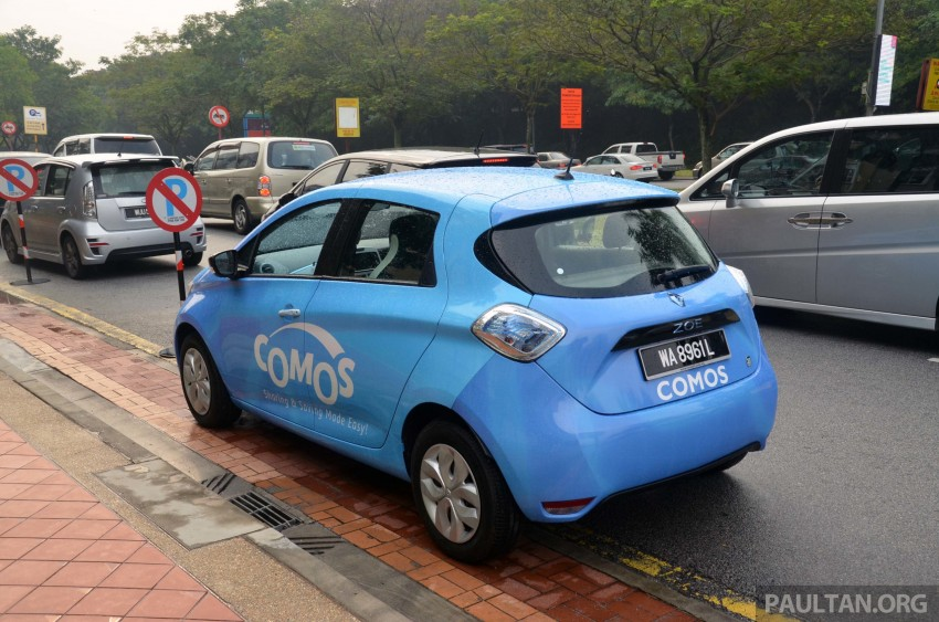 COMOS introduces EV car-sharing programme to the public, official launch to take place next month Image #274320