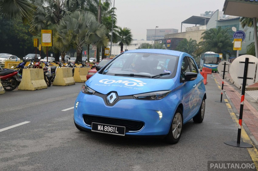 COMOS introduces EV car-sharing programme to the public, official launch to take place next month Image #274327