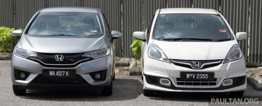 GALLERY: Old and new Honda Jazz, side by side Image #268628