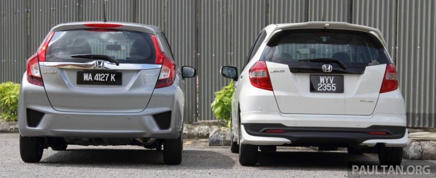 GALLERY: Old and new Honda Jazz, side by side Image #268631